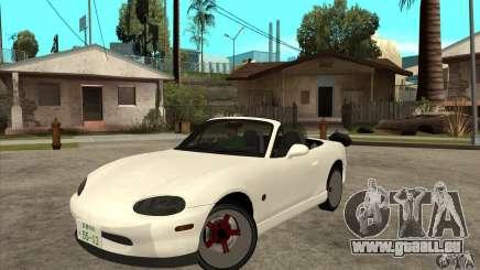 Mazda MX-5 JDM Convertible für GTA San Andreas