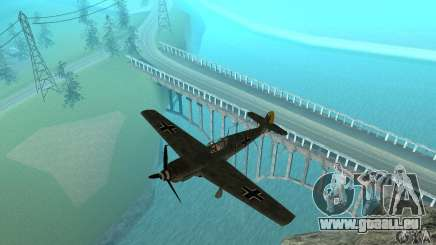Bf-109 pour GTA San Andreas