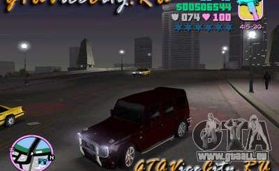 Mercedes-Benz G500 Brabus pour GTA Vice City