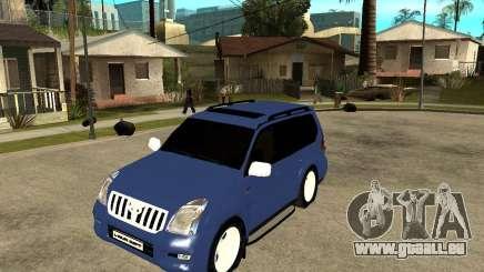 2009 toyota land cruiser prado für GTA San Andreas