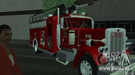 Peterbilt 379 Fire Truck ver.1.0 pour GTA San Andreas