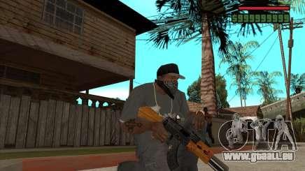 AK 47 von Xenus 2 für GTA San Andreas