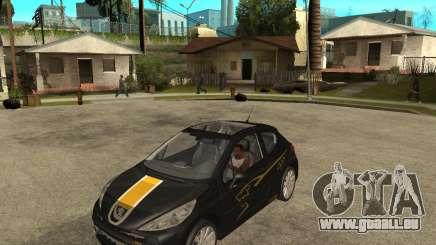 PEUGEOT 207 Griffe LANCARSPORT pour GTA San Andreas