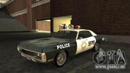 Dodge Polara Police 1971 für GTA San Andreas