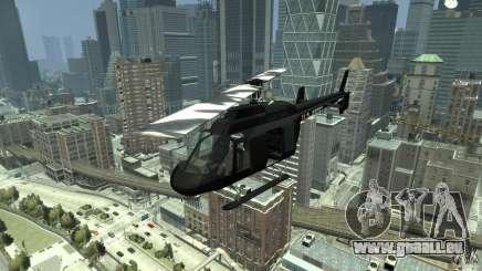 Black U.S. ARMY Helicopter v0.2 für GTA 4