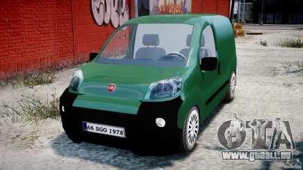 Fiat Fiorino 2008 Van pour GTA 4