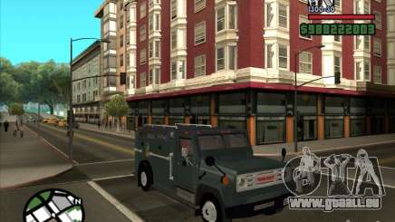GMC 6000 Armored Truck 1985 pour GTA San Andreas