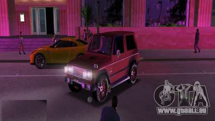 Mitsubishi Pajero pour GTA Vice City