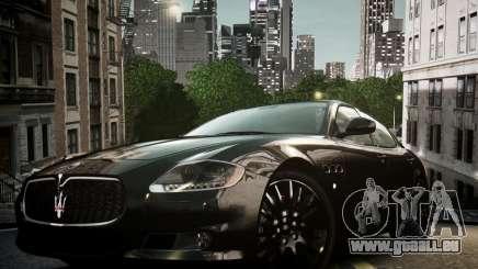 Maserati Quattroporte Sport GTS 2011 pour GTA 4