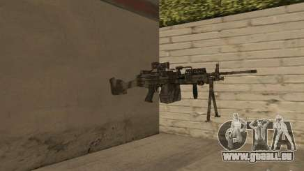 Maschinengewehr MK-48 für GTA San Andreas