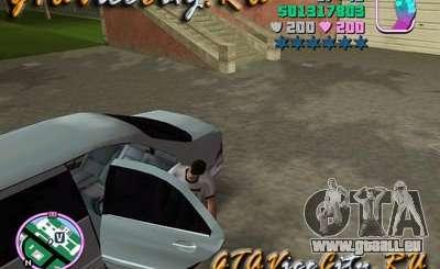 Mercedes-Benz S600L (W220) avec chauffeur pour GTA Vice City