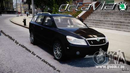 Skoda Octavia Scout Unmarked [ELS] pour GTA 4