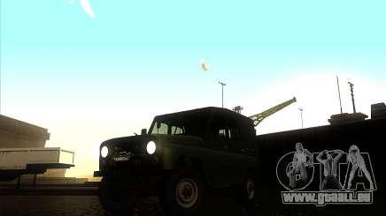 UAZ 31512 militaire pour GTA San Andreas