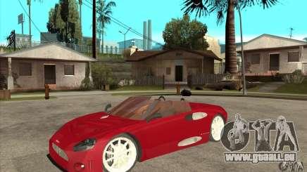 Spyker C8 Spyder pour GTA San Andreas