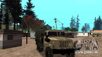 Ural-4320 pour GTA San Andreas