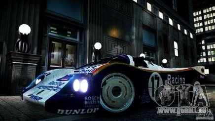 Porsche 962 pour GTA 4