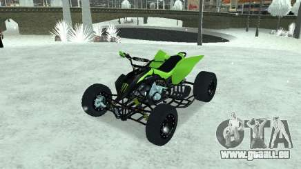Kawasaki Monster Energy Quad pour GTA San Andreas