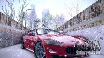Maserati Gran Turismo S 2011 V2 für GTA San Andreas
