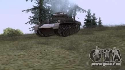 PzKpfw II Ausf.A für GTA San Andreas