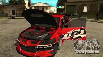 Mitsubishi Lancer Evolution IX Tokyo Drift für GTA San Andreas