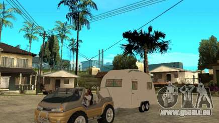 Ford Intruder 4x4 Concept + Caravan pour GTA San Andreas