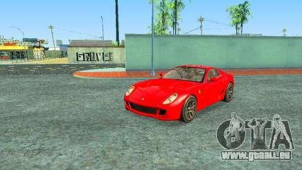 Ferrari 599 GTB für GTA San Andreas