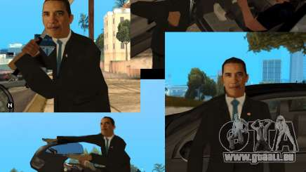 Barack Obama in den Gta für GTA San Andreas