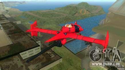 Swordfish Mono Racer für GTA Vice City
