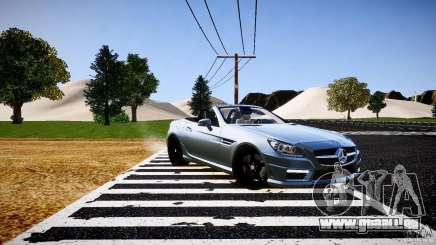 Mercedes-Benz SLK 2012 pour GTA 4