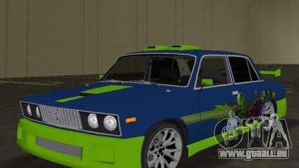 VAZ 2106 Tuning v3. 0 für GTA Vice City