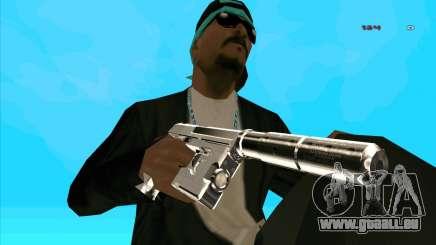 Chrome Weapon Pack für GTA San Andreas