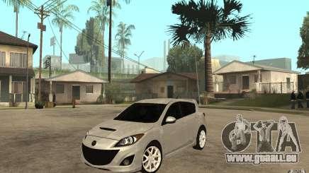 Mazda 3 Mazdaspeed 2010 pour GTA San Andreas