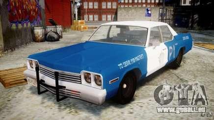 Dodge Monaco 1974 (bluesmobile) für GTA 4