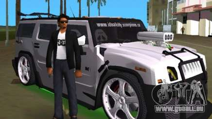 AMG Hummer H2 Hard Tuning v2 pour GTA Vice City