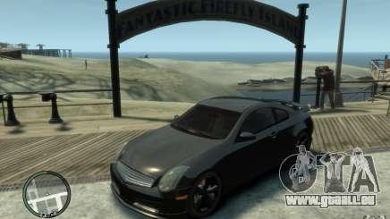 Nissan Skyline Coupe 350GT pour GTA 4