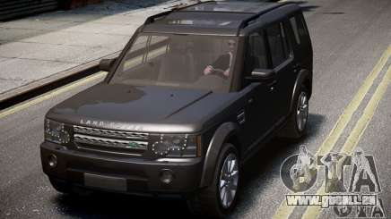 Land Rover Discovery 4 2013 pour GTA 4
