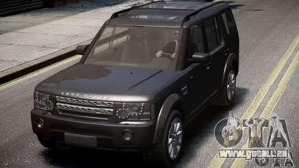 Land Rover Discovery 4 2013 für GTA 4