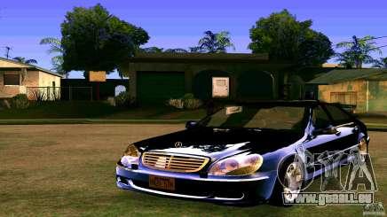 Mercedes S500 für GTA San Andreas