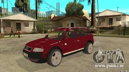 Audi Allroad Quattro v1.1 pour GTA San Andreas