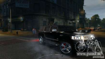 Hummer H3 2005 Chrome Final pour GTA 4