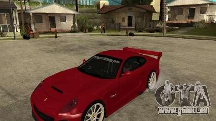 Ferrari 612 Scaglietti GTS LaMans TUNING für GTA San Andreas