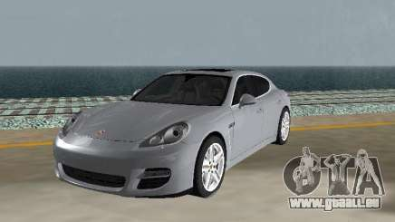 Porsche Panamera Turbo Tunable für GTA San Andreas