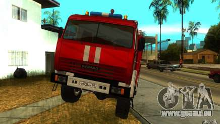 KAMAZ 43118 AC-7, 0-40 pour GTA San Andreas