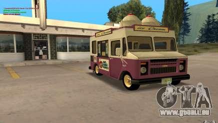 Chevrolet Forvard Control 20 Ice Cream pour GTA San Andreas