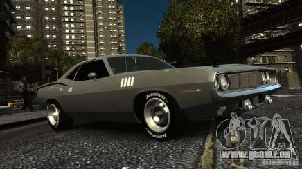 Plymouth Hemi Cuda 1971 für GTA 4