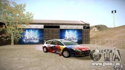 Citroen C4 WRC pour GTA San Andreas