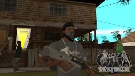 AUG HBAR avec un oeil pour GTA San Andreas