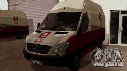 Mercedes-Benz Sprinter 5-Kanal für GTA San Andreas
