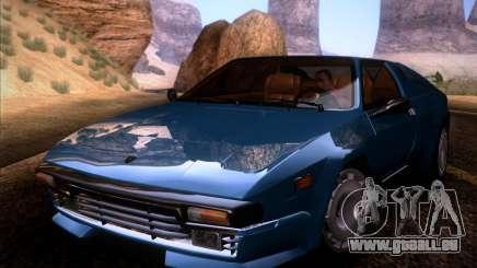 Lamborghini Jalpa 3.5 1986 für GTA San Andreas