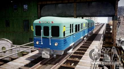 Russische Metro für GTA 4